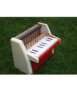 VINTAGE TOY PIANO NOT COMLETE MADE IN EAST GERMANY DDR GDR 1970 - $98.96