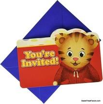 Daniel Tiger's Neighborhood Party Birthday Invitations Invite Postcards 8PCS Kid - $8.86