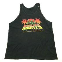 High & Mighty Tank Top Size 2XL XXL Loose Black Sleeveless Shirt Retro G... - $17.83