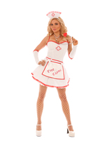 Elegant Moments Free Exams Nurse Light Up Halloween Costume W/WO EXTRAS ... - $47.99+