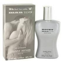 Rocky Man Silver Eau De Toilette Spray By Jeanne Arthes For Men - $15.85