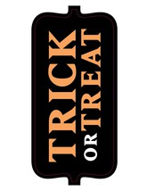 Trick or Treat Tag-Digital Download-ClipArt-ArtClip-Digital   - $4.00