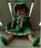 Vintage Composition Baby Doll, LOOKS OLD, VERY GOOD CONDITION - $89.09