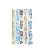 Carnation Home Fashions Extra Long Olivia Fabric Shower Curtain 1301-FSC... - $25.03