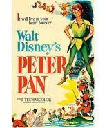 Peter Pan - 1953 - Movie Poster - $9.99 - $32.99