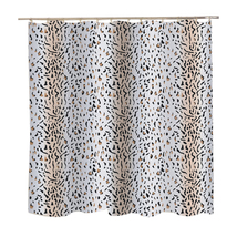 Carnation Home Fashions Extra Wide Hailey Fabric Shower Curtain 1301-FSCXW-HAL - $33.39