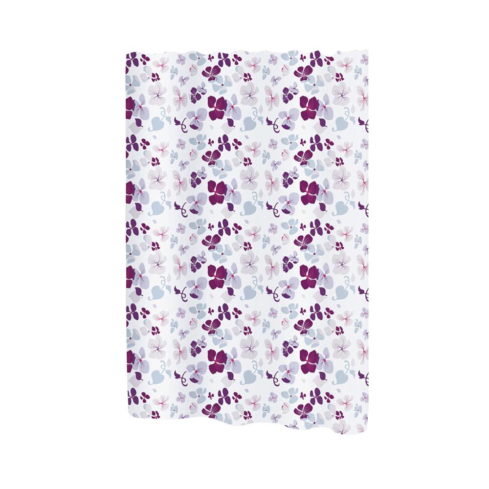 Carnation Home Fashions Extra Wide Joanne Fabric Shower Curtain 1301-FSCXW-JON - $32.19