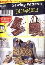 SIMPLICITY Sewing For Dummies 5598 Bags & Acces... - $9.00