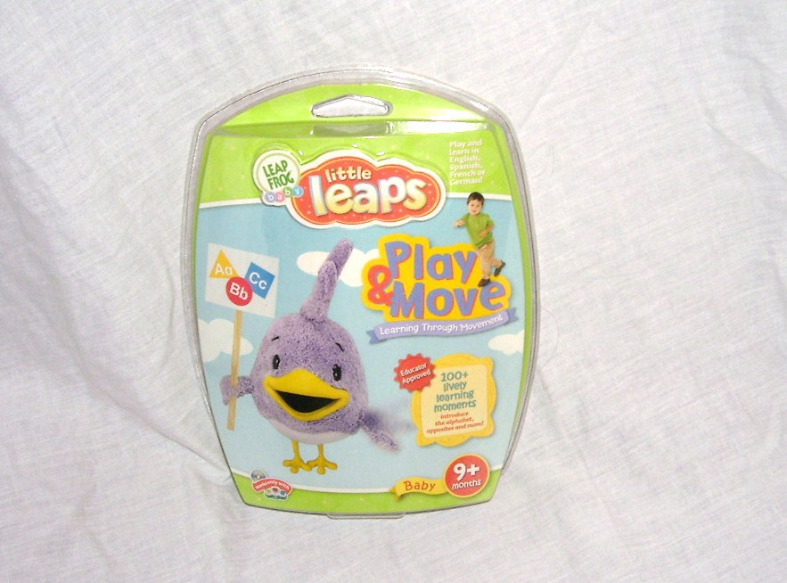 Leap frog baby little leaps play move disc