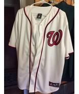 Washington Nationals Bryce Harper Jersey Majestic Sz XL Sewn On Authenti... - $42.95