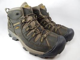 Keen Targhee II Mid Size US 12 M (D) EU 46 Men's WP Hiking Boots Green 1002375