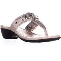 Marc Fisher Amina2 Thong Flip Flop Sandals, Pink Multi, 7.5 US - £18.95 GBP