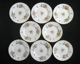 "Minton England China Marlow S-309 Globe Mark 8- Bread & Butter Plates 6 1/4"" - $39.55"