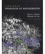 LEHNINGER PRINCIPLES OF BIOCHEMISTRY 5TH US EDITION BY DAVID NELSON, MIC... - $77.32