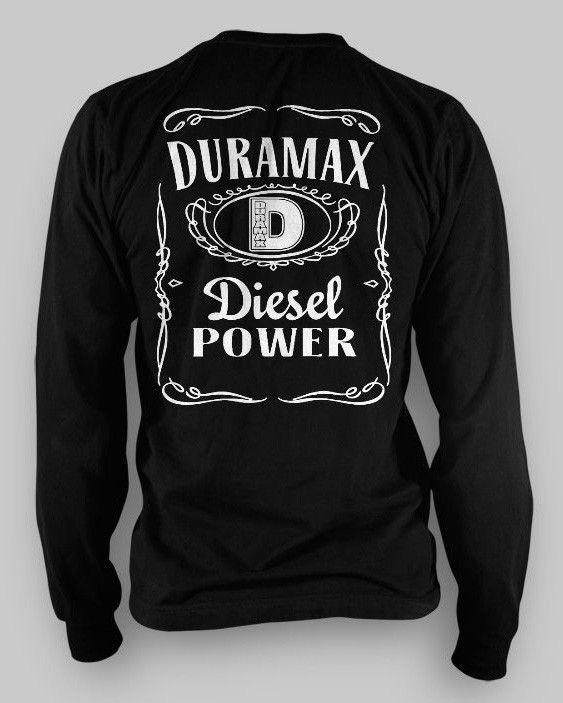 NEW Duramax JACK LONG SLEEVE T shirt All sizes Dodge 4x4 ...