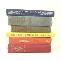 Rainbow Vintage Book Stack Decorative Hardcover Novels Shabby Interior D... - $40.84