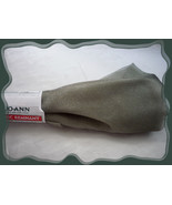 Seafoam Green Shimering Organza Sheer Fabric Remnant .75 yd Polyester - $1.50