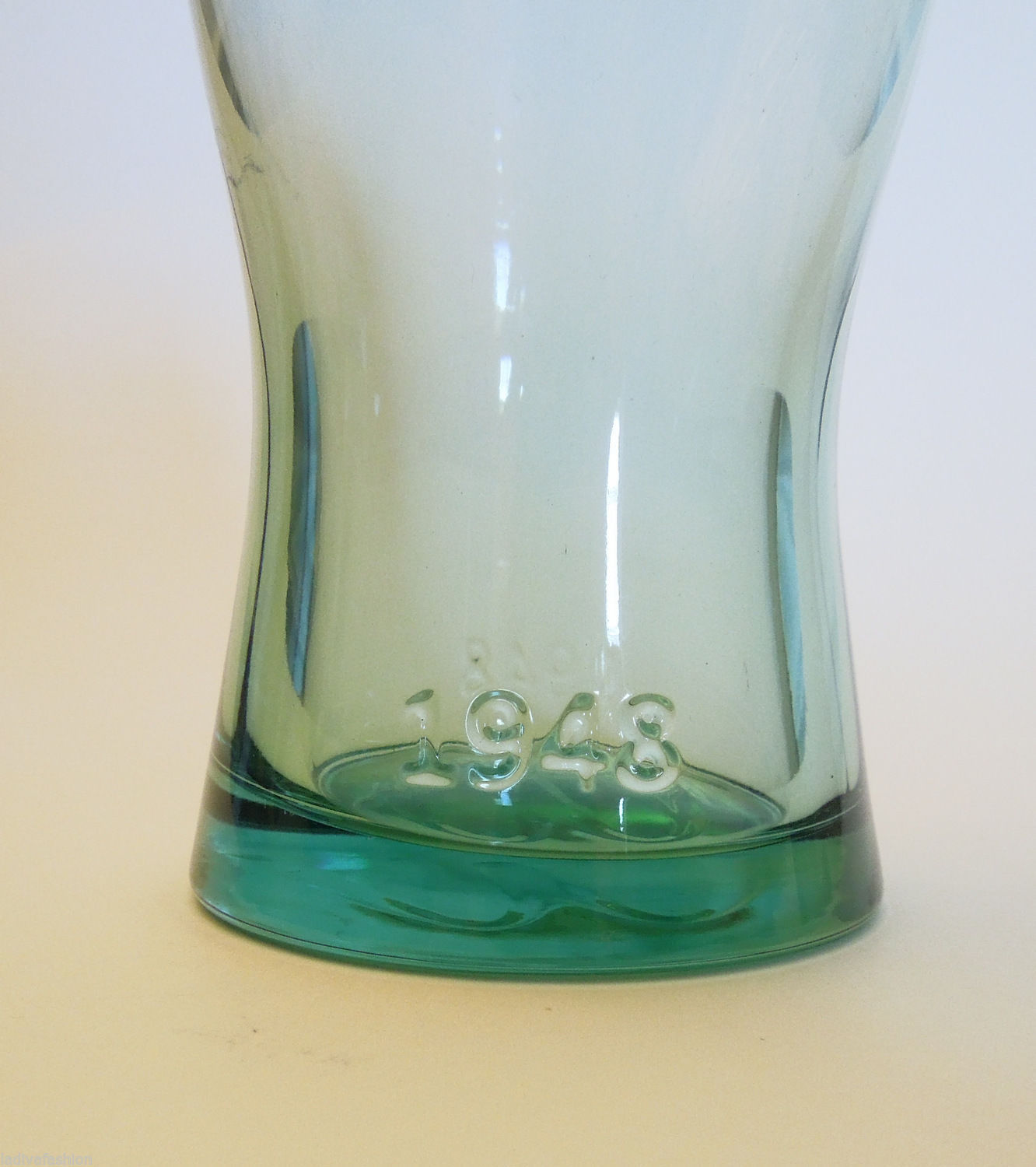 McDonald's Collectible Retro Drinking Glass - 1948 Green