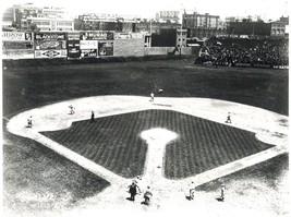 Fenway Park 1917 Boston Red Sox Vintage 11X14 BW Baseball Memorabilia Photo - $14.95