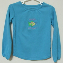 Girls Toddler Sonoma Teal Long Sleeve Top Size 3T - $3.95