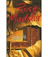 VINTAGE 1995 Stephen King Rose Madder Hardcover Book - $49.49