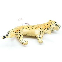 Hand Carved & Painted Jacaranda Wood Cheetah Safari Ornament Made in Kenya image 4