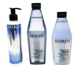 Redken Extreme Length Shampoo, Conditioner and Play Safe Treatment - $64.99