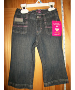 Riders Baby Clothes 18M Infant Blue Denim Jeans Pants Girl Alexis Style ... - $14.24