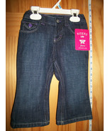Riders Baby Clothes 18M Infant Blue Denim Jeans Pants Girl Amy Style Lee... - $14.24
