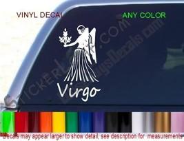 Virgo Decal Virgin Zodiac STICKER COLOR Astrology car truck decals stick... - £6.03 GBP
