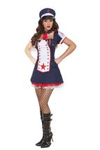 Elegant Moments Naval Knockout Navy Halloween Costume S-XL & PLUS Sizes ... - $47.99+