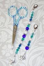 Barbara Gingher Long Scissor Fob cross stitch needlework My Big Toe Designs - $18.00