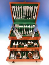 Florentine Lace by Reed & Barton Sterling Silver Flatware Set Service 140 Pieces - $10,095.00