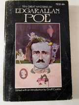 Ten Great Mysteries by Edgar Allan Poe 1970 Paperback Groff Conklin - $0.00