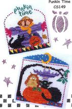 Punkin Time cross stitch chart Val's Stitchin Stuff - $6.30