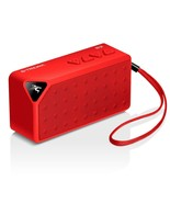 Bluetooth Recharge Speaker Sport Boom Boom Sound Box Mic FM Radio Red - $49.44