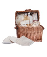 Spa In A Basket Mens Skin Care Grooming Gift Aromatherapy Bath Oil - $53.89