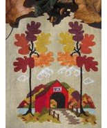 Autumn In Vermont cross stitch chart By The Bay Needleart  - $11.70