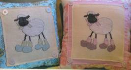 Baa Baa Baby sheep cross stitch chart Hot House Petunia - $7.20