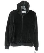NWT black hoodie Zipper S Cotton blend Sutton S... - $29.99