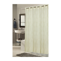 Shower Stall-Sized, EZ-ON Bristol Polyester Shower Curtain 1301-SCEZ-ST-... - $29.31