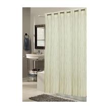 Shower Stall-Sized, EZ-ON Bristol Polyester Shower Curtain 1301-SCEZ-ST-... - $29.31