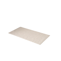 Small 13'' x 20'' Slip-Resistant Rubber Bath Tub Mat-Bone 1301-TM-DSM-15 - $21.99