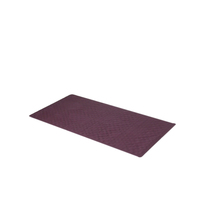 Small 13'' x 20'' Slip-Resistant Rubber Bath Tub Mat-Burgundy 1301-TM-DS... - $24.99