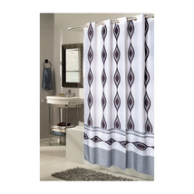 Extra Wide, EZ-ON Harlequin Polyester Shower Curtain 1301-SCEZ-XW-HAR - $30.47