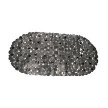 Pebbles Vinyl, Slip-Resistant Bath Tub Mat-Black 1301-TM-ROC-MULTI - $25.47
