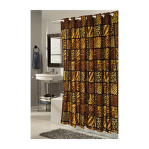 Extra Wide, EZ-ON Wild Encounters Polyester Shower Curtain 1301-SCEZ-XW-WER - $37.44