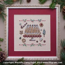 Kouglof cross stitch chart Filigram - $7.20