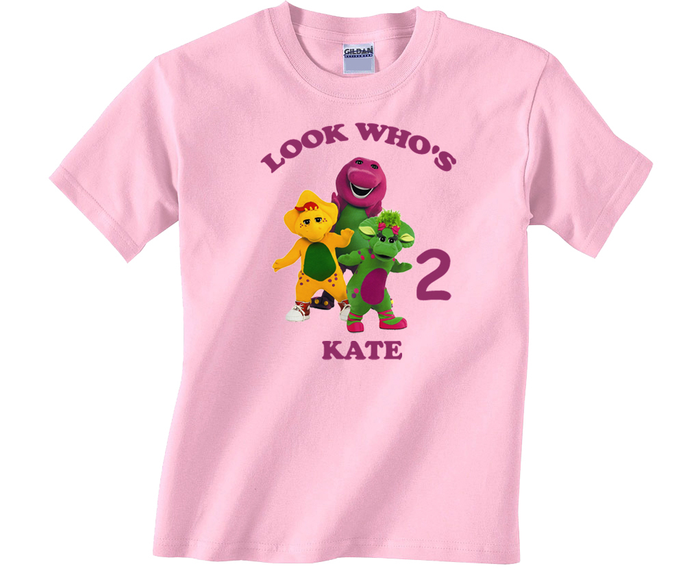 2fb44ca267 Barney & Friends Personalized Light Pink and 50 similar items