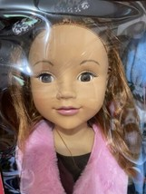 New Girls Life Size Doll Donna Two Of Us Doll Walks Eyes Blink Kids Toy UNEEDA - $59.35